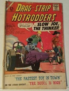 DRAG-STRIP HOTRODDERS  # 4 - CHARLTON COMICS - JUNE 1965
