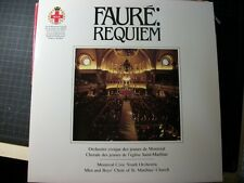 LP: FAURE REQUIEM Montreal Civic Youth Orchestra