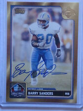 2004 Barry Sanders Topps Hall of Fame Autograph Class of 2004 #HOF-BS Auto