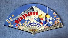 "Scandinavian Airlines SAS "" JAPAN  ""  vintage Luggage Label"