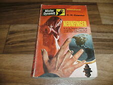 C.H. Guenter -- MISTER DYNAMIT  # 395  // NEUNFINGER // Pabel 1971