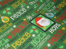 "Trena's Little Bit of Christmas Fabric, Trena Olsen General Fabric Co. 32""lx43""w"