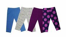 NEW! MYKA GIRL'S LEGGINGS SET - PACK OF 4 (SIZE MEDIUM/ 2-3Y)