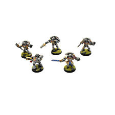 GREY KNIGHTS 5 Strike force squad purifiers #2 PRO PAINTED Warhammer 40K METAL