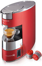 Illy X9 Macchina da Caffè IperEspresso Anodizzato Rosso / Inox 1200w +14 Capsule