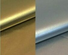 """8~Metallic Shiny Silver & Gold Tissue Paper Gift Wrap~4 Sheets Each~20"""" x 30"""""""