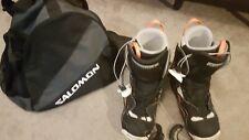 Salomon SNOWBOARD Boots With Salomon Bag  Size 11.5 (UK)