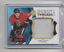 2012-13 The Cup Ultimate Debut Threads Patch Rookie /100 Mark Stone # UDTP-MS