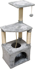 New listing Cat Tree Tower Condo Sisal Post Scratching Furniture Activity Center Play House