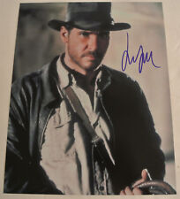 HARRISON FORD Autographed Hand Signed Indiana Jones Film Photograph Autograph