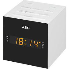 AEG MRC 4150 Radio Despertador USB carga de móvil (AM / FM / USB / AUX-IN)