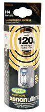 RW1272 Ring H4 XENON ULTIMA +120% Uprated Headlight Bulbs 12v 60/55w H4 (x2)
