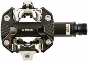 """LOOK X-TRACK Pedals - Dual Sided Clipless, Chromoly, 9/16"""", Gray"""