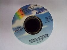 """BARBARA MANDRELL Crossword Puzzle/If It's Not One Thing It's Another 7"""" 45"""