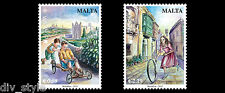 Old Toys Europa issue 2015 set of 2 stamps mnh Malta #1539-40