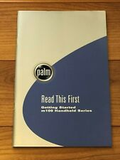 Palm m100 Series Read This First Getting Started Handbook Documentaion Original