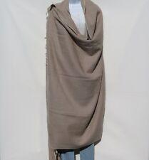 Yak Wool Blend |Blanket/Throw |Nepal |Handmade |Over-Sized | Beige & Ivory