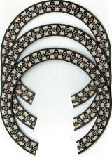 THREE, UKULELE ROSETTES, (Soprano)  INLAY, SOUND HOLE 409-S-3
