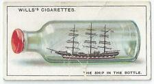 WILLS - DO YOU KNOW - CARD 42 - HOW THE SHIP CAME INSIDE THE BOTTLE? (ABKK)