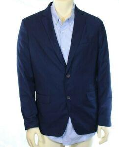 American Rag Slim Fit Men's Navy Blue 2 Button Blazer Retail