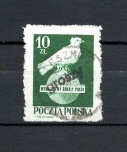 """PL Polen 1950 Mi.-Nr. 663 Aufdruck """"GROSZY"""" auf 560 gestempelt o   (1)"""
