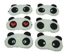 Masque Cache de Nuit Sommeil Relaxation Repos Yeux Panda AntiFatigue Voyage