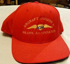 AOPA Aircraft Owners and Pilots Association Snapback Adjustable Hat New Era