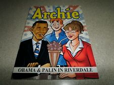Archie Obama & Palin In Riverdale SC TPB Archie Comics NEW
