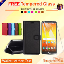 For Motorola Moto E5 G6 G6 Plus G6 Play X4 Wallet Leather Card Flip Case Cover