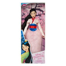 "Disney's Princess Mulan in original box wearing a glitter dress 11"" doll"