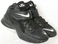 Nike 653645-004 Lebron James Soldier VIII Basketball Black Shoe Youth US 6.5Y