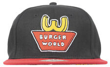 BEAVIS AND BUTTHEAD BURGER WORLD SNAPBACK HAT MENS BIOWORLD COSPLAY COSTUME
