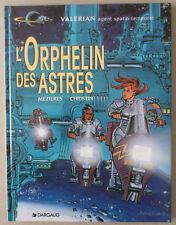 MEZIERES  ***  VALERIAN 17. L'ORPHELIN DES ASTRES  ***  EO 1998