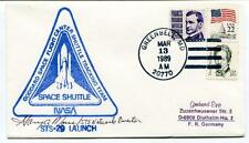 1989 Space Shuttle NASA Goddard Space Flight Center Tracking Team STS-29 SIGNED