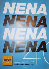 "NENA - ""40 Jahre Nena"" - Album-Poster/Plakat 2017"