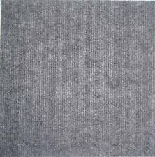 Carpet Tiles Peel and Stick 144 Square Ft Choice of Black Red Tan Gray Blue Grey