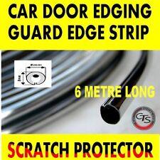 6M DOOR EDGE CHROME STRIP GUARD TRIM MOULDING HYUNDAI i20 MATRIX SANTA FE i30