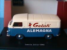 LANCIA JOLLY 1962 GELATI ALEMAGNA STARLINE 530729 1/43 TOLE BLEU & BLANC ITALIE