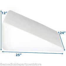 "24"" x  24"" x 12"" Foam Bed Wedge Pillow - Free Shipping"