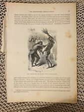 The Serpent & the Beaver Dance of the Prairies - c.1880 Book Page