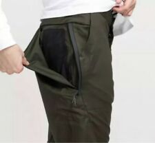 """MENS NIKE BONDED WOVEN PANTS TROUSERS SIZE S W28"""" (886166 355) SEQUOIA"""