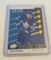 R43,594 - 2019-20 Upper Deck Shooting Stars Centers #SSC3 Auston Matthews