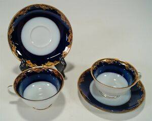 1983-1991 Rosenthal Classic Rose Frederick The Great Demitasse Cups & Saucers