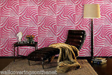 Pink & Cream, Animal / Zebra Skin Design, Paste the Wall, Featurewall, Wallpaper