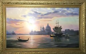 "Oil Painting ""Venetian fairy tale"""