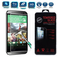100% Genuine Real HD 9H Tempered Glass Screen Cover Protector For HTC One 2 M8
