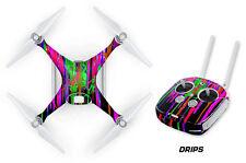 DJI Phantom 4 Drone Wrap RC Quadcopter Decal Sticker Custom Skin Accessory DRIPS