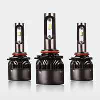S2 H4 H7 H8 H11 9005 9006 LED Headlight Bulb 36W 8000LM 6500K White Hi/Lo Beam