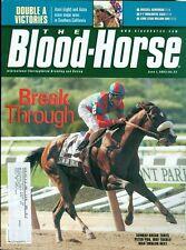 2002 The Blood-Horse Magazine #22: Sunday Break NY Wins/Azeri Wins in South Cali