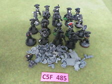 Warhammer 40K Space Marine army lot - 20 partially painted Tactical Troops bb